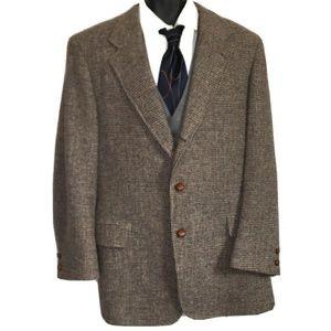 Vintage Harris Tweed Men's 43L Blazer Sport Coat